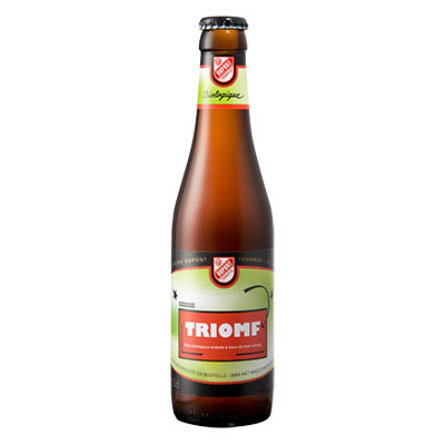 5410702001369 Triomf  - 33cl Bottle conditioned organic beer (control BE-BIO-01)